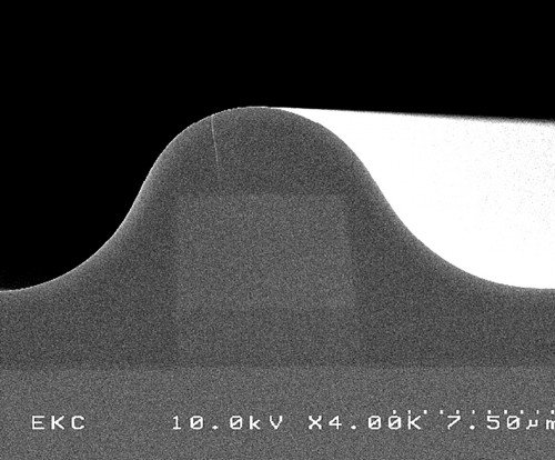 Silica planar waveguide with Ge-doped core and BPSG cladding
