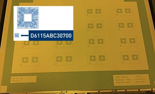 QR codes let manufacturers track boards as they move through production.