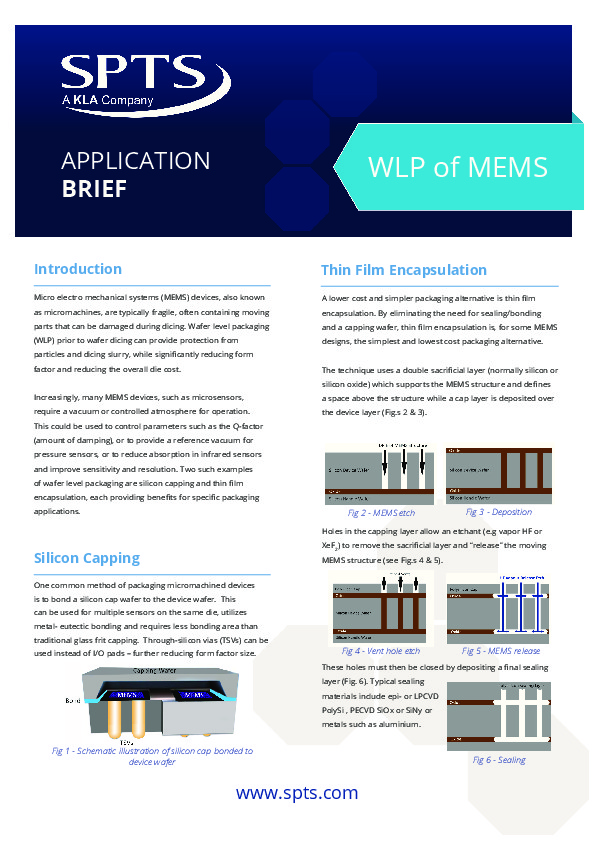 WL Packaging of MEMS